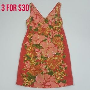Tracy Feith for Target Coral Floral Tank Dress 3